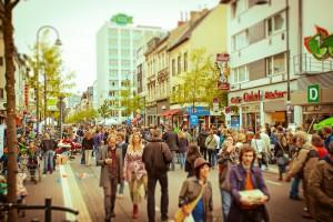 Die Venloer Straße an Tag des guten Lebens 2013 (Photo: Marén Wirths)
